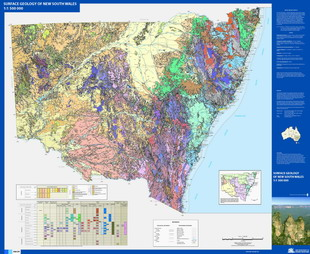 NSW 1500k Surface Geology Thumb