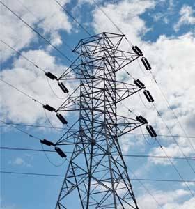Electricity pylon in NSW.