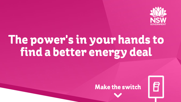 Make a choice about your energy provider