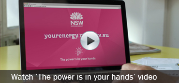 Watch 'The power is in your hands' video