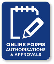 Online Forms Applications & Approvals